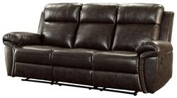 Gideon Transitional Styled Reclining Motion Sofa