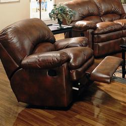 Walter Leather Rocker Recliner