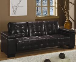 Sofa Beds and Futons Convertible Sofa Bed with Drop Down Console and Storage