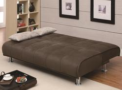 Sofa Beds and Futons Transitional Styled Sofa Sleeper Futon Bed