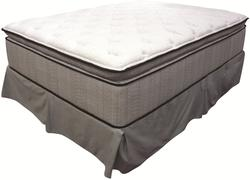 King Koil Spine Support Delaney Full Jumbo Pillow Top Mattress and Foundation
