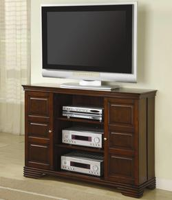 TV Stands Classic Media Console with Doors and Shelves