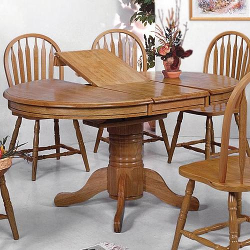 Crown Mark Oak Dining Room Collection