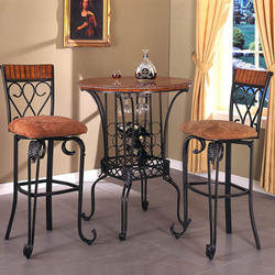 Ashley Furniture Alyssa Piece Round Dining Table Side Chair Set - Alyssa dining room set