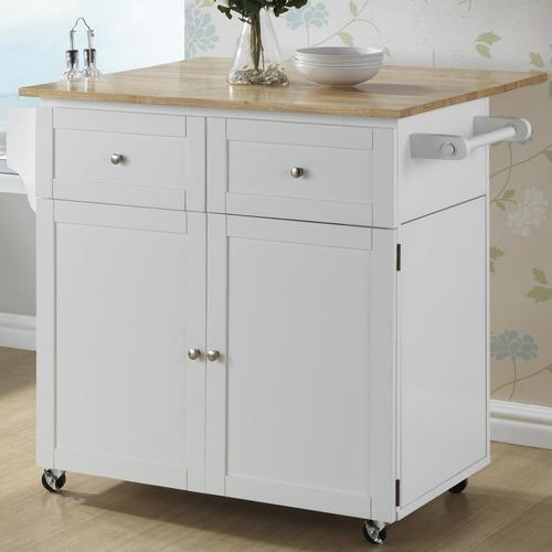portable stand baskets with kitchen cart island drawer drawers rolling storage product brown trolley
