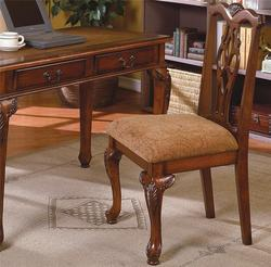 Fairfax Desk Chair with Upholstered Seat