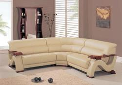 2033 Contemporary Sectional with Corner Wedge