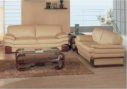 728 Modern Leather Living Room Group