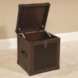 $901.00 Add To Cart; Hidden Treasures Trunk Cube End Table