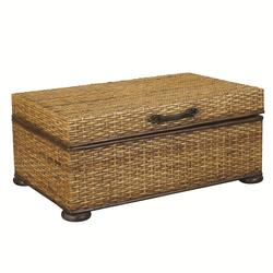Beautiful $871.00 Add To Cart; Hidden Treasures Woven Rattan Storage Trunk