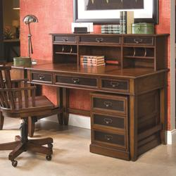 Mercantile Desk & Hutch with Rolling File