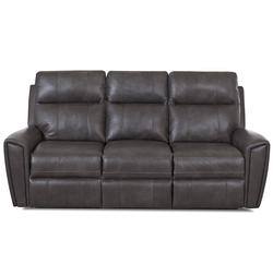 Impala Casual Reclining Sofa with Attached Pillow Back and Recliner Handle