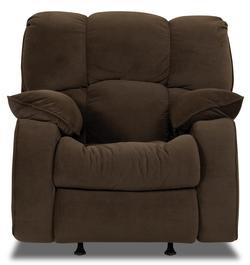 Travis Overstuffed Reclining Rocking Chair