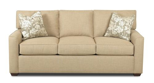Klaussner Pantego Sofa With Track Arms
