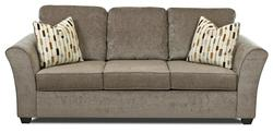 Salina Transitional Queen Inner Spring Sleeper Sofa