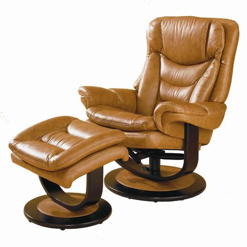 lane leather essentials contemporary impulse leather recliner ottoman