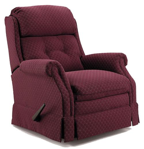 Lane Recliners Traditional Styled Carolina Glider Recliner