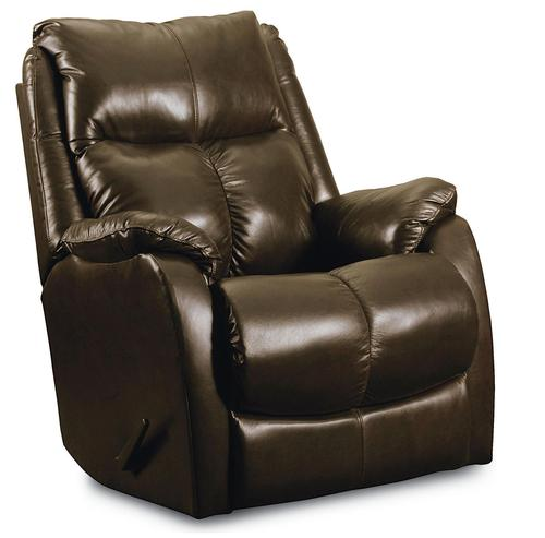 Lane teton casual glider recliner with pad over chaise seat for Bulldog pad over chaise rocker recliner