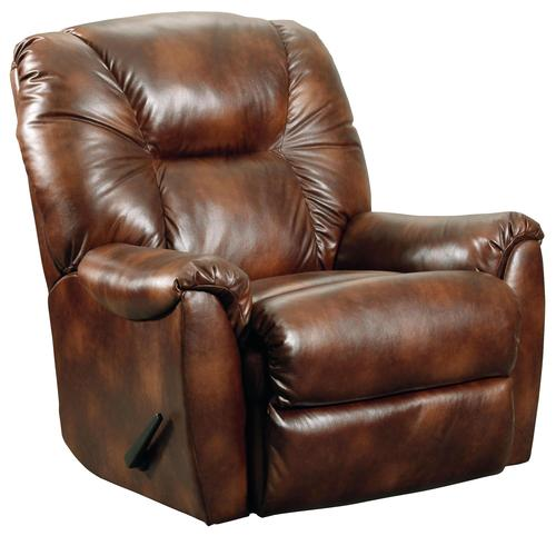 Lane webb comfortable rocker recliner with casual living room style - Stylish rocker recliner ...