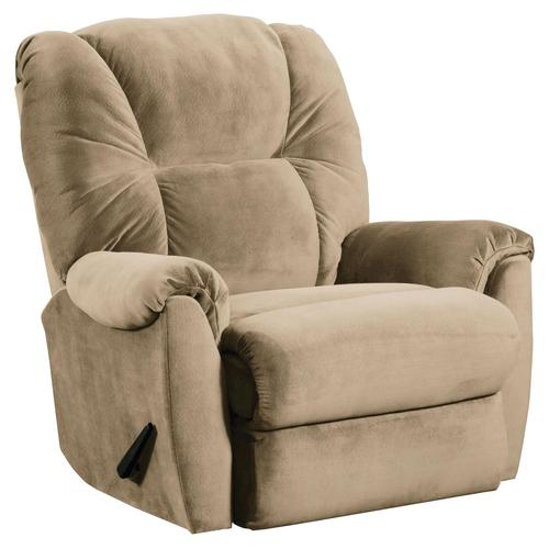 Lane recliners smooth upholstered rocker recliner with casual furniture style - Stylish rocker recliner ...