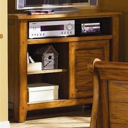 Grandpa's Cabin Casual Media Chest with Sliding Door