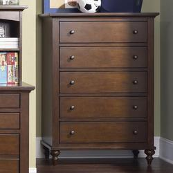 Abbott Ridge Youth Bedroom 5 Drawer Chest