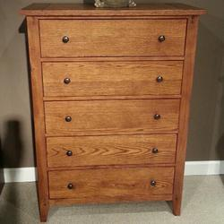 Hearthstone Chest with Five Drawers