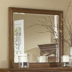 Hearthstone Landscape Dresser Mirror with Beveled Edge