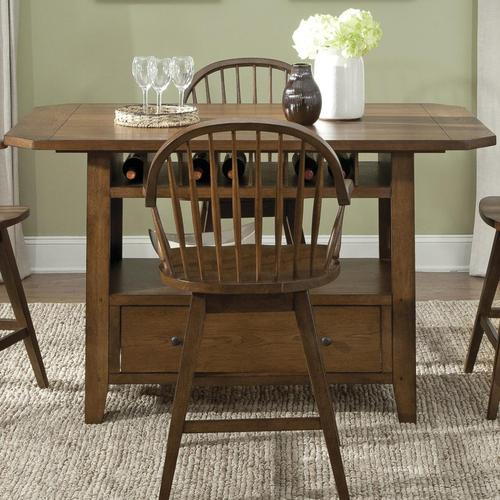 Liberty Furniture Hearthstone Center Island Table With