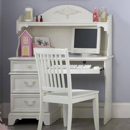 furniture arielle youth bedroom traditional single pedestal student