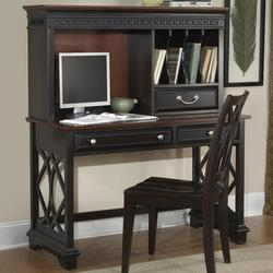 St. Ives Writing Desk with Hutch Set