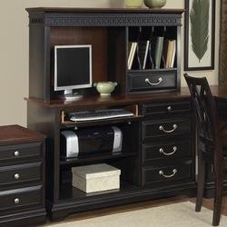 St. Ives Credenza and Hutch with Flip Down Keyboard Tray
