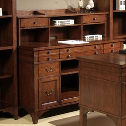 Keystone Jr. Executive Storage Credenza and Hutch Set