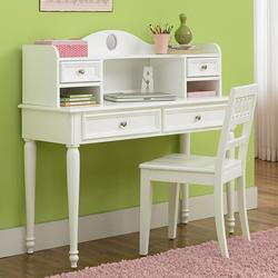 Kaleidoscope Youth Student Desk Base + Hutch