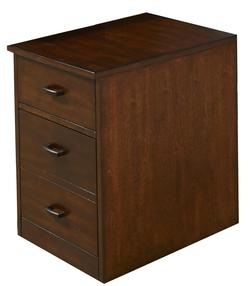 Leyton Two-Drawer Mobile File Cabinet