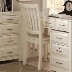 Hampton Bay - White School House Desk Chair