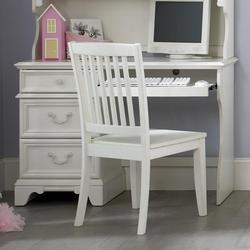 Arielle Youth Bedroom Traditional Single Pedestal Student Desk