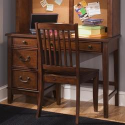 Chelsea Square Youth Single Pedestal Student Desk