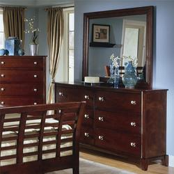 go to product 4141 six drawer dresser and mirror combo