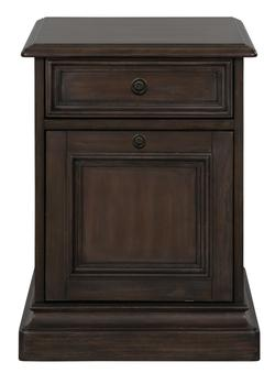 Broughton Hall Mobile File Cabinet with Casters