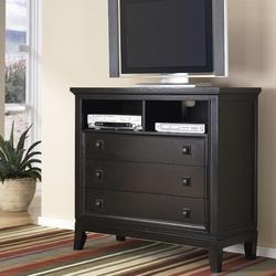 to cart martini suite media chest with 3 drawers and 2 media shelves