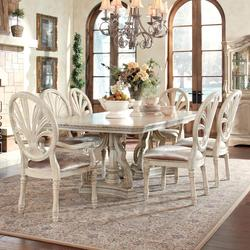 Good $1,140.00 Add To Cart; Ortanique 7 Piece Rectangular Table Set With Pierced  Back Chairs