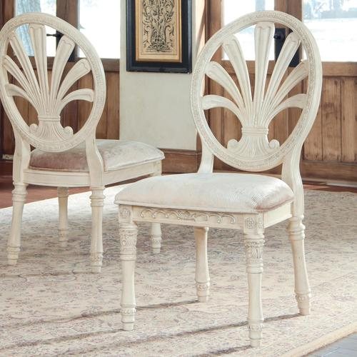millennium ortanique traditional dining upholstered side chair