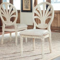 $940.00 Add To Cart; Ortanique Traditional Dining Upholstered Side Chair  With Pierced Back