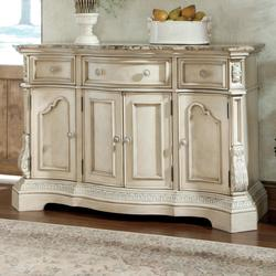 Great $1,200.00 Add To Cart; Ortanique Traditional Dining Room Server With Marble  Top