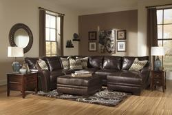 Beenison - Chocolate Stationary Living Room Group