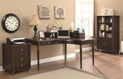 Jacqueline Cappuccino Finish Office Group