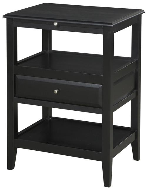 Amazing Sedona 2 Shelf Accent Table With Drawer U0026 Pull Out Tray