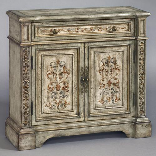 Large Foyer Chest : Pulaski furniture accents hall chest with two doors and
