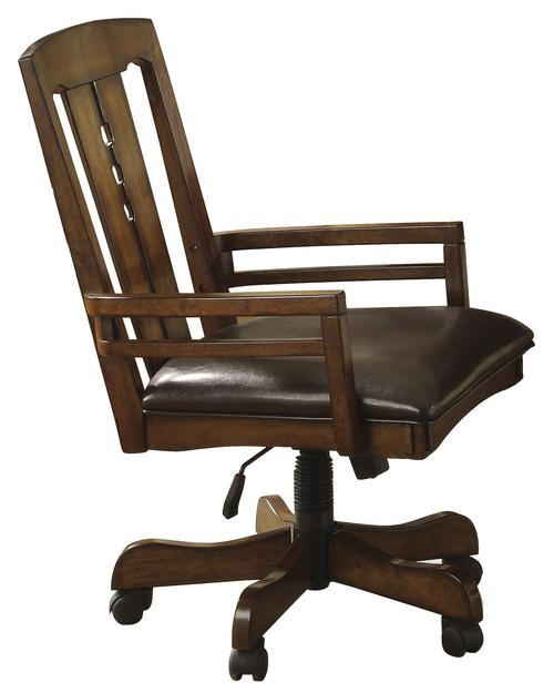 riverside furniture craftsman home game chair with casters